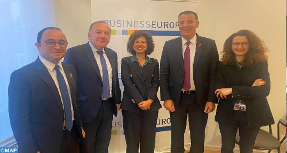 Les patronats marocain et européen unis pour la modernisation du cadre des relations commerciales et d'investissement UE-Maroc