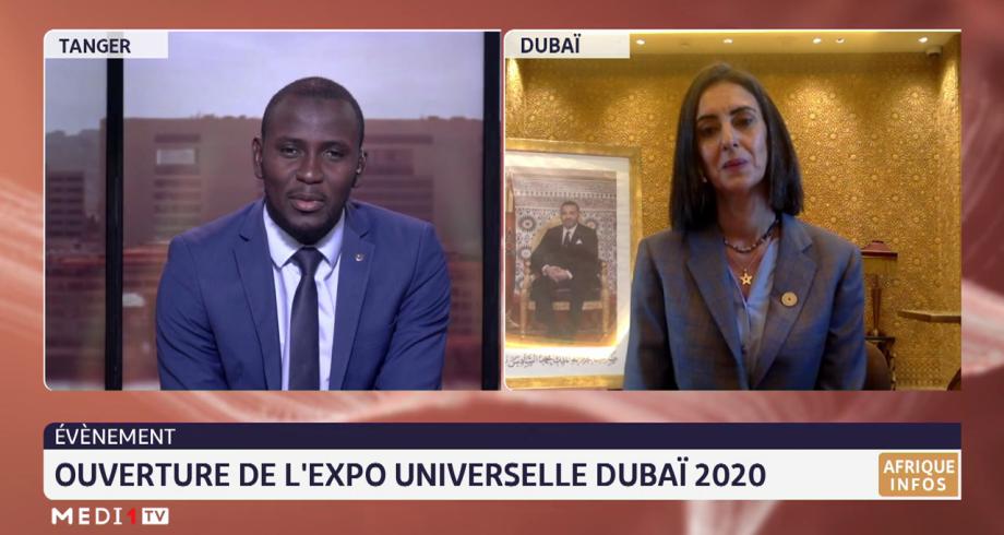 Ouverture de l'expo universelle Dubaï 2020 avec la participation du Maroc. Le point avec Nadia Fettah Alaoui