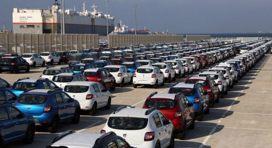 ارتفاع نسبة صادرات السيارات حتى متم غشت الماضي