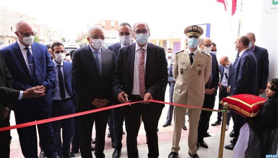 افتتاح المركز الجهوي للا آمنة لاستقبال ورعاية الأطفال بالداخلة
