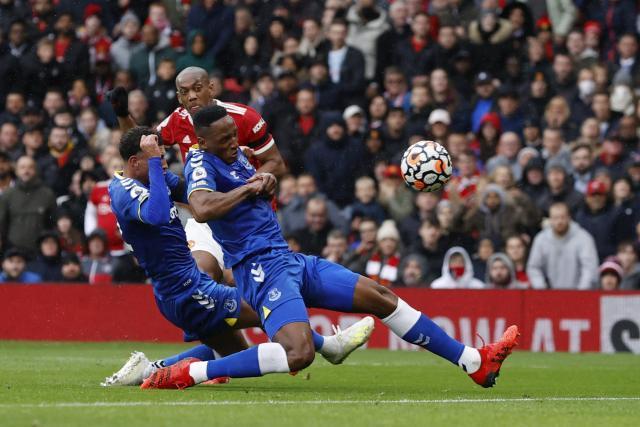 Championnat d'Angleterre: Manchester United tenu en échec par Everton (1-1)