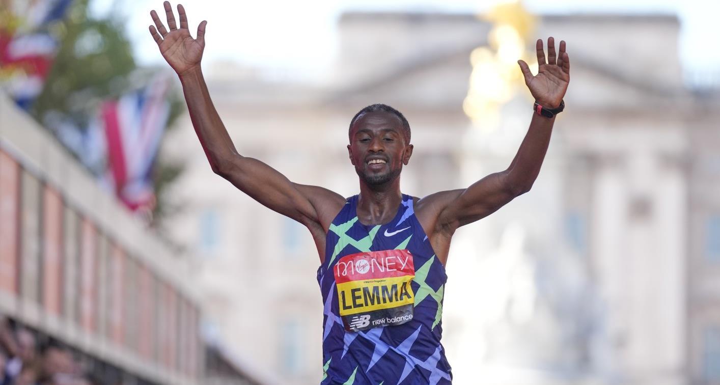 Athlétisme: Lemma s'adjuge le marathon de Londres