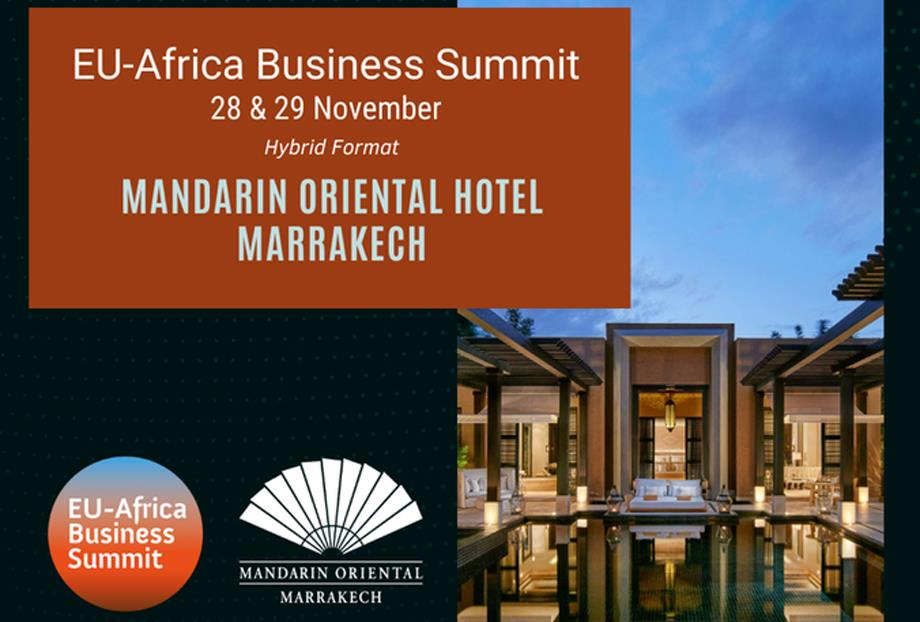 Marrakech abrite le sommet des entreprises UE-Afrique fin novembre