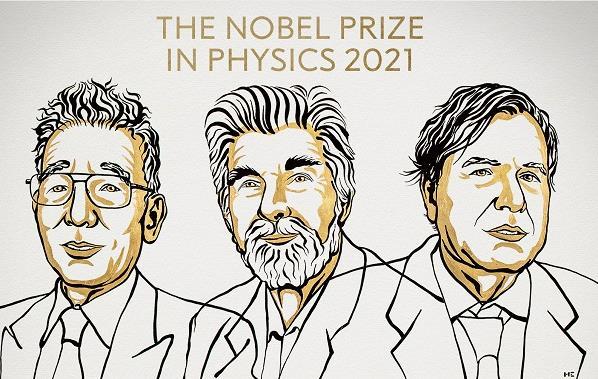 نوبل الفيزياء لخبيري مناخ ولعالم إيطالي