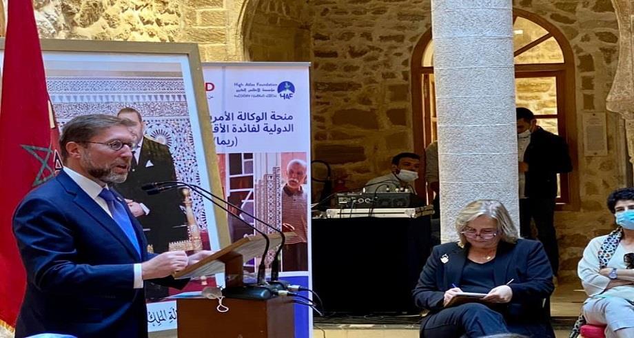 """Lancement à Essaouira du programme """"REMA"""" dédié à la préservation de la diversité du patrimoine culturel du Maroc"""