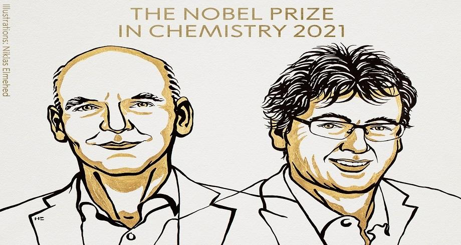 Le Nobel de chimie à l'Allemand Benjamin List et l'Américain David MacMillan