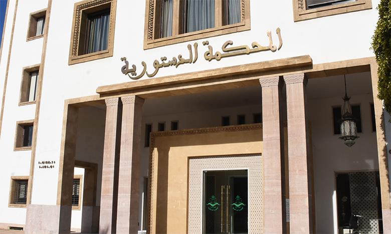 Election de la chambre des conseillers: voici les délais pour le recours auprès de la Cour constitutionnelle