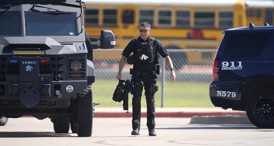 أربعة مصابين جراء إطلاق نار في مدرسة ثانوية في تكساس