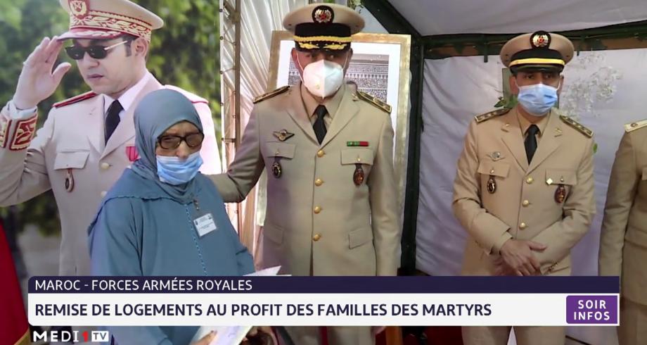 Tanger: remise de logements au profit des familles des martyrs de l'intégrité territoriale