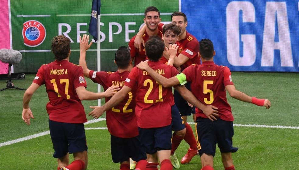 دوري الأمم الأوروبية .. إسبانيا تثأر من إيطاليا