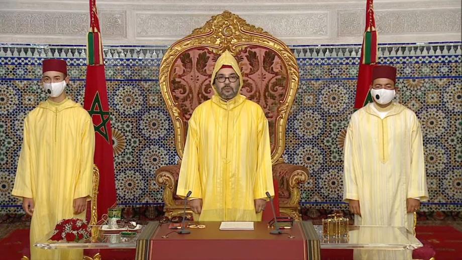 11e législature: le Roi Mohammed VI adresse vendredi un discours au parlement
