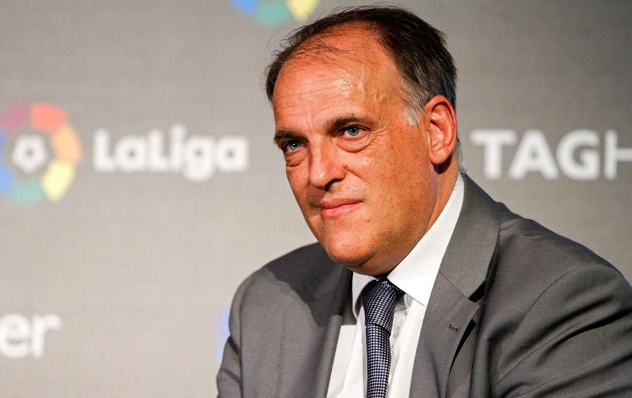 رئيس (لا ليغا) : الوضع الاقتصادي لبرشلونة أسوأ من ريال مدريد