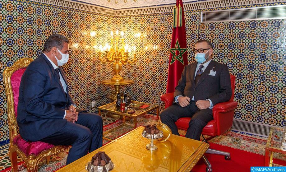 Le Roi Mohammed VI préside la cérémonie de nomination des membres du nouveau gouvernement