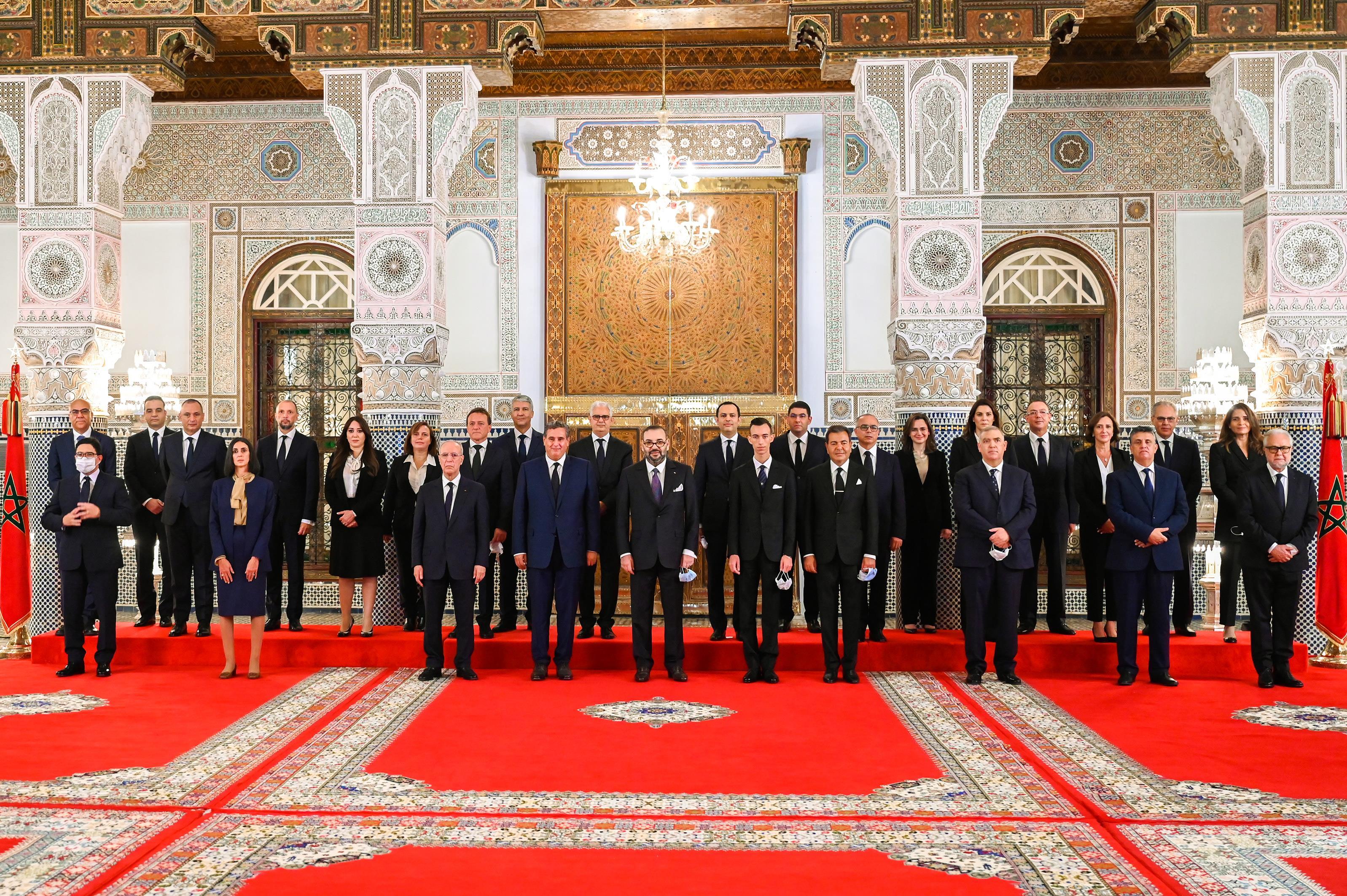 الحكومة.. فريق مقلص ووجوه جديدة