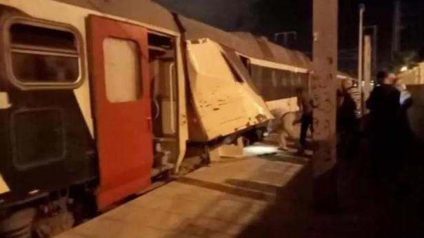 Une trentaine de blessés dans une collision entre deux trains en Tunisie
