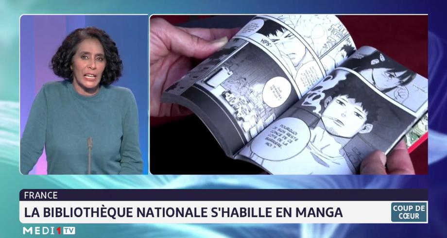 Coup de cœur: la bibliothèque nationale en France s'habille en Manga