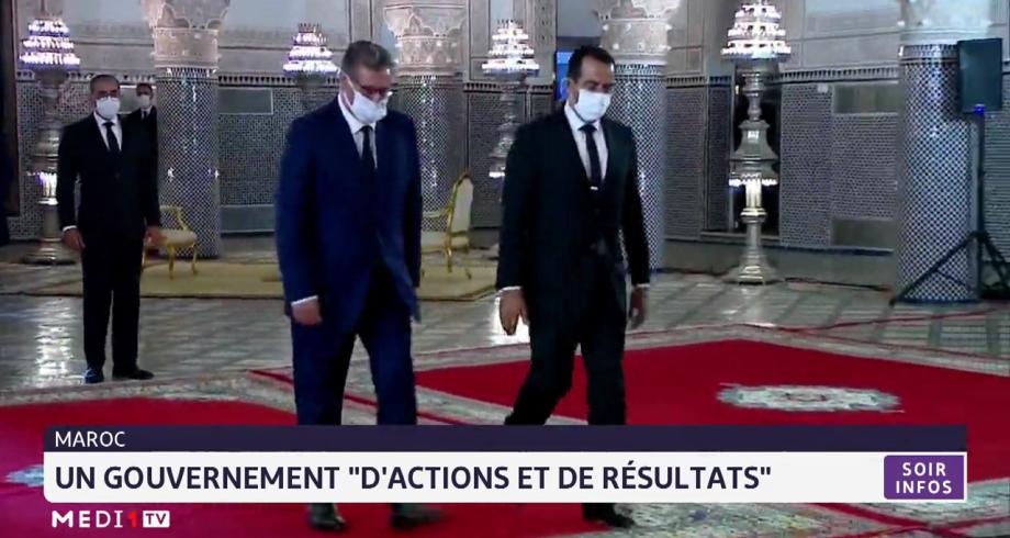 """Maroc: un gouvernement """"d'actions et de résultats"""""""