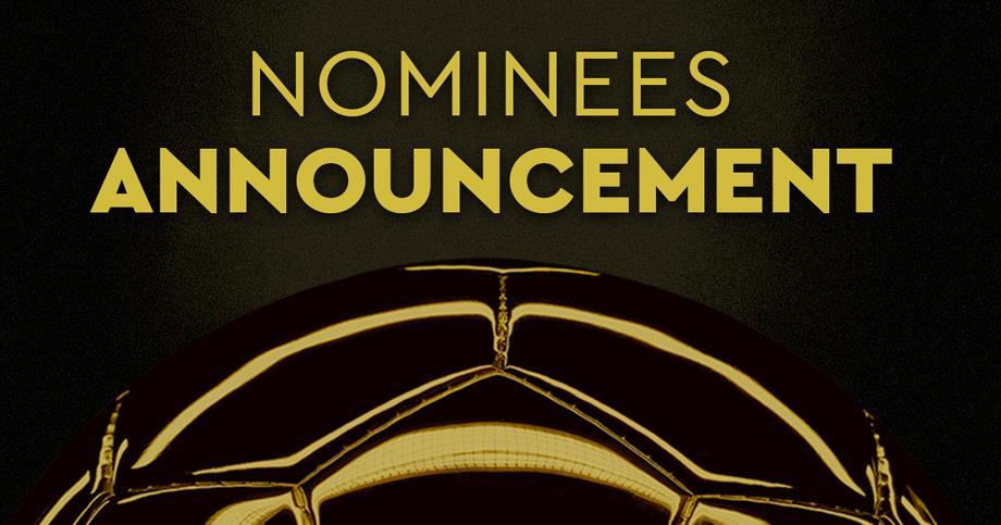 """الإعلان رسميا عن القائمة الموسعة للمرشحين لجائزة """"الكرة الذهبية """""""