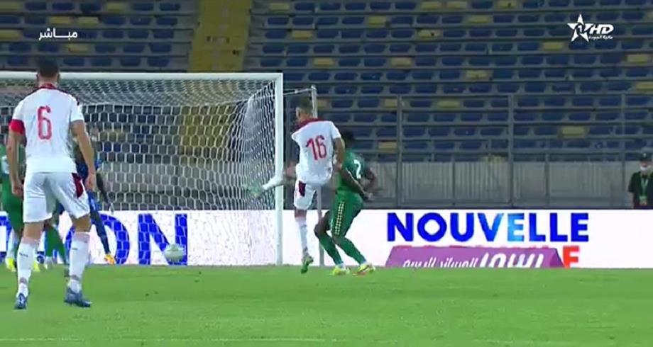 المنتخب الوطني ينهي الشوط الأول متقدما على غينيا بيساو