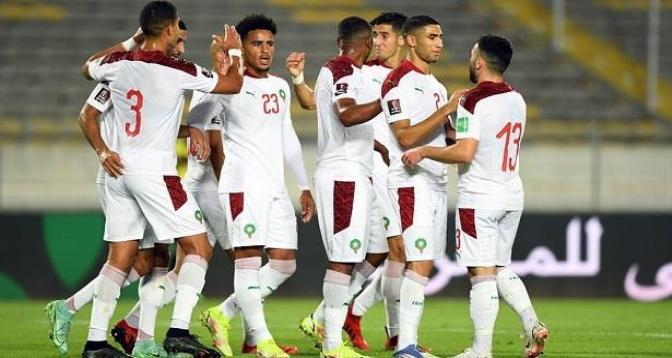 Eliminatoires Mondial-2022 : le Maroc bat la Guinée Bissau (3-0)