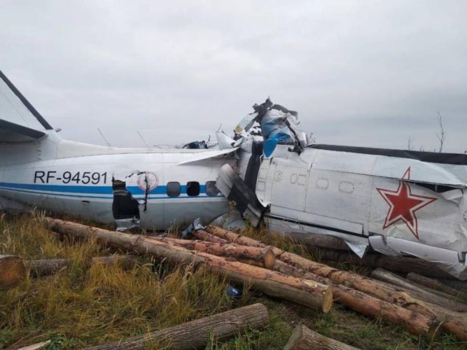 Russie: un avion s'écrase dans le centre du pays, 15 morts