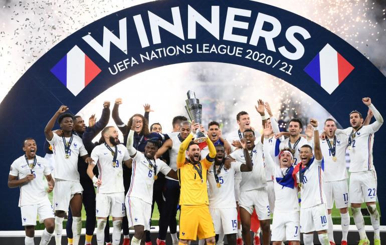 Ligue des Nations (Finale): La France remporte le titre aux dépens de l'Espagne 2-1