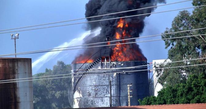 Liban: important incendie dans une raffinerie