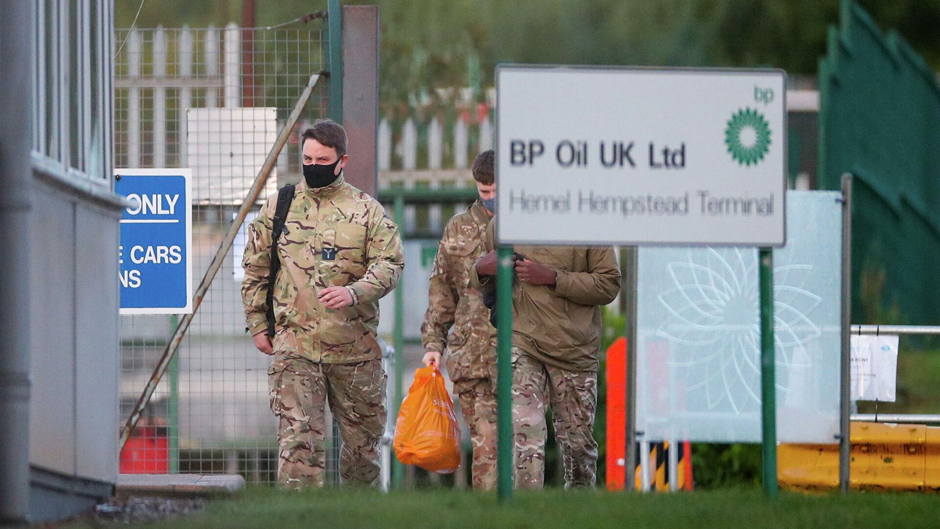 أزمة الوقود تعيد الجيش إلـى حياة البريطانيين