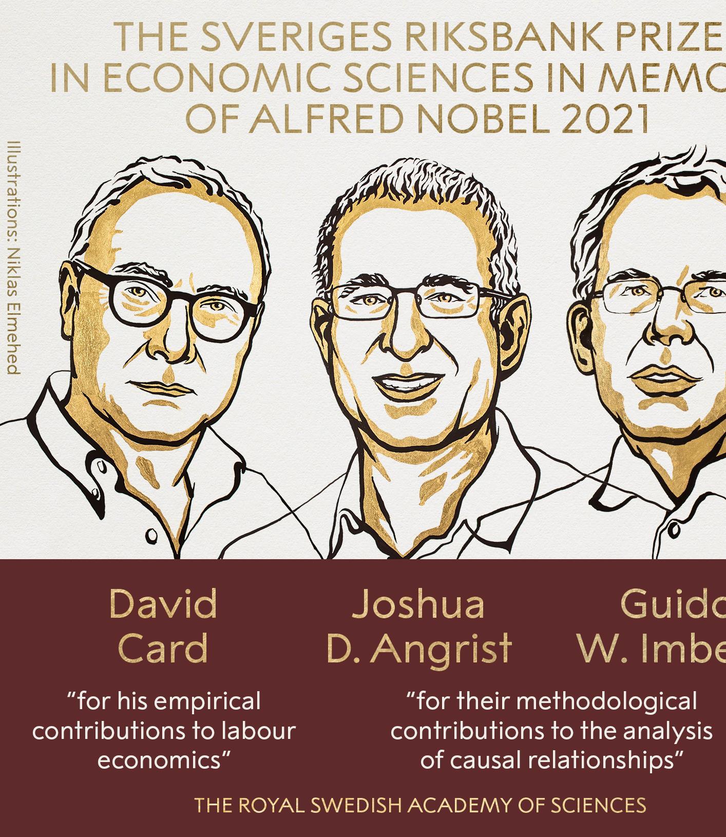 Le Nobel d'économie décerné à trois spécialistes de l'économie expérimentale
