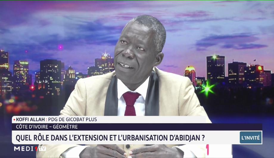 Côte d'Ivoire-géomètre : quel rôle dans l'extension et l'urbanisation d'Abidjan ?