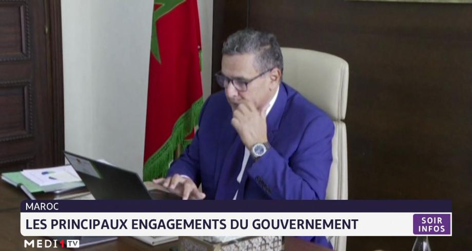 Maroc: les principaux engagements du gouvernement Akhannouch
