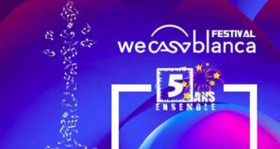 """عودة مهرجان """"WeCasablanca """" في حلة جديدة ببرنامج فني غني ومتنوع"""