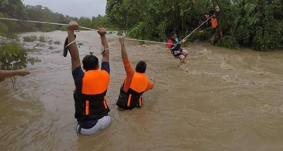 30 قتيلا ضحايا عاصفة كومباسو في الفلبين وفق حصيلة جديدة