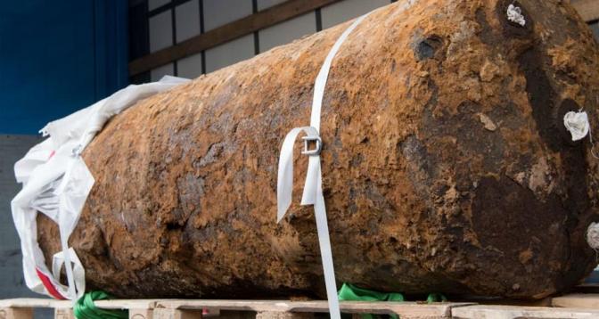 إبطال مفعول قنبلة ضخمة غربي ألمانيا