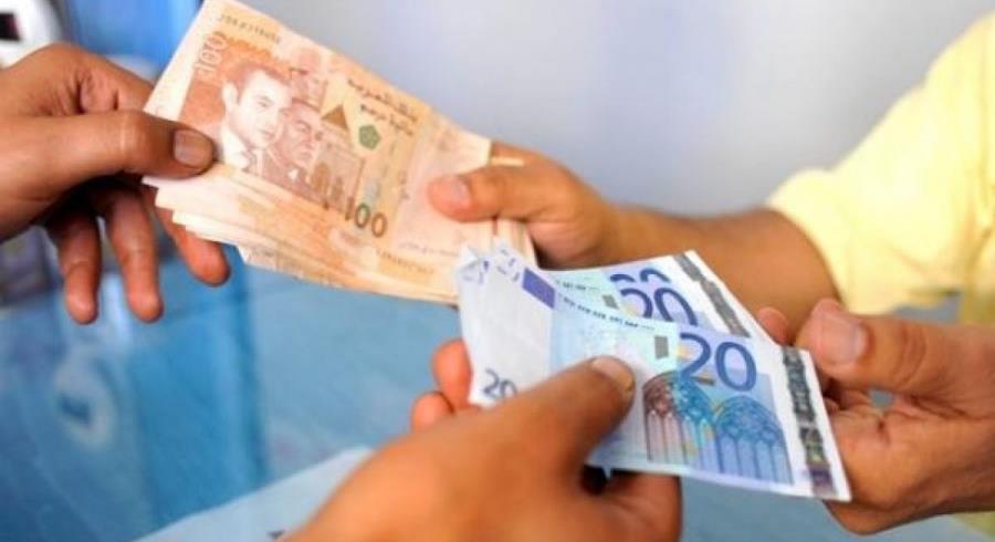 ارتفاع سعر صرف الدرهم مقابل الأورو خلال الفصل الثالث من 2021