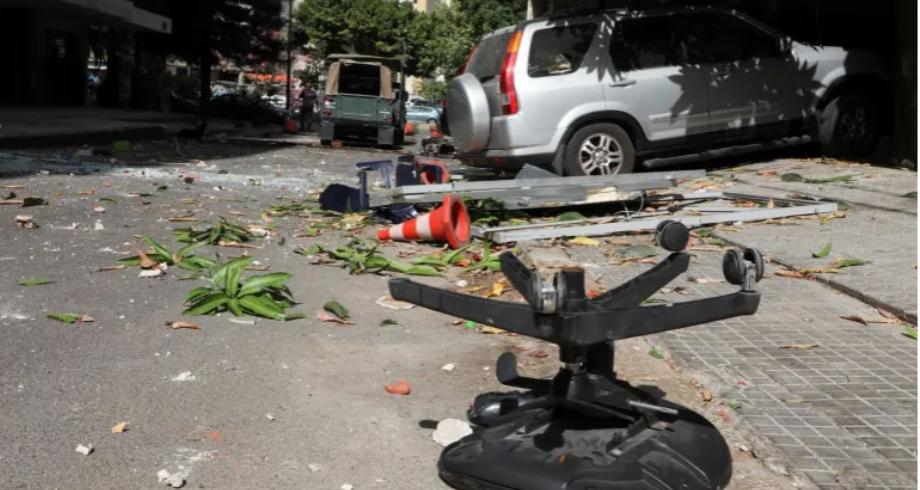 مقتل 6 أشخاص في اشتباكات مسلحة خلال مظاهرة وسط بيروت