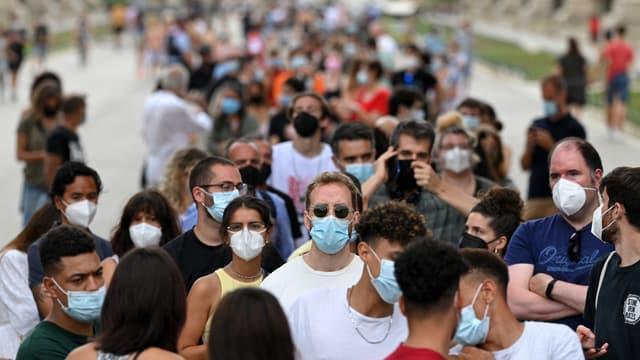 Espagne/Covid-19: Plus de 87% de la population cible vaccinée