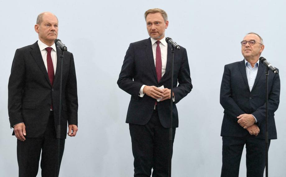 Allemagne: accord préliminaire pour la formation d'un nouveau gouvernement