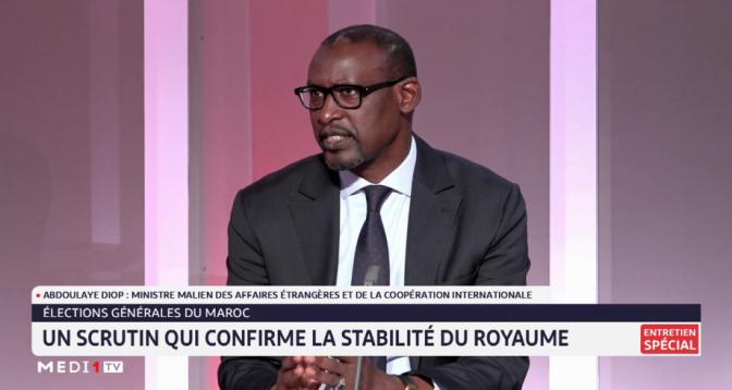 Abdoulaye Diop félicite le Maroc  pour le succès de la tenue des élections générales le 8 septembre