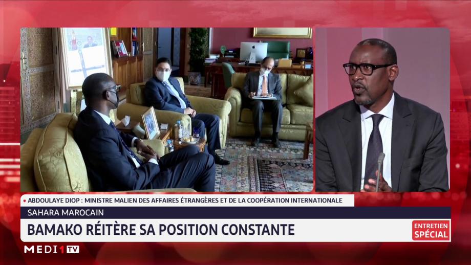 Sahara marocain: Abdoulaye Diop réitère la position constante du Mali en faveur d'une solution politique, juste et durable