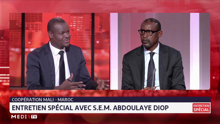 Abdoulaye Diop réaffirme le soutien du Mali au processus onusien  pour trouver une solution durable à la question du Sahara marocain