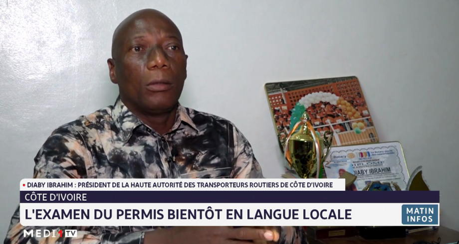Côte d'Ivoire: l'examen du permis bientôt en langue locale