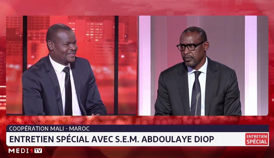 Les temps forts de l'entretien du ministre malien des Affaires étrangères Abdoulaye Diop sur Medi1TV