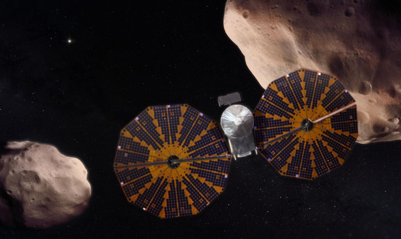 """NASA: La sonde """"Lucy"""" en mission pour explorer les astéroïdes troyens"""