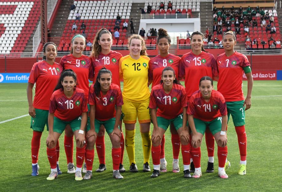 مباراة ودية للمنتخب الوطني لكرة القدم النسوية ضد نظيره الإسباني
