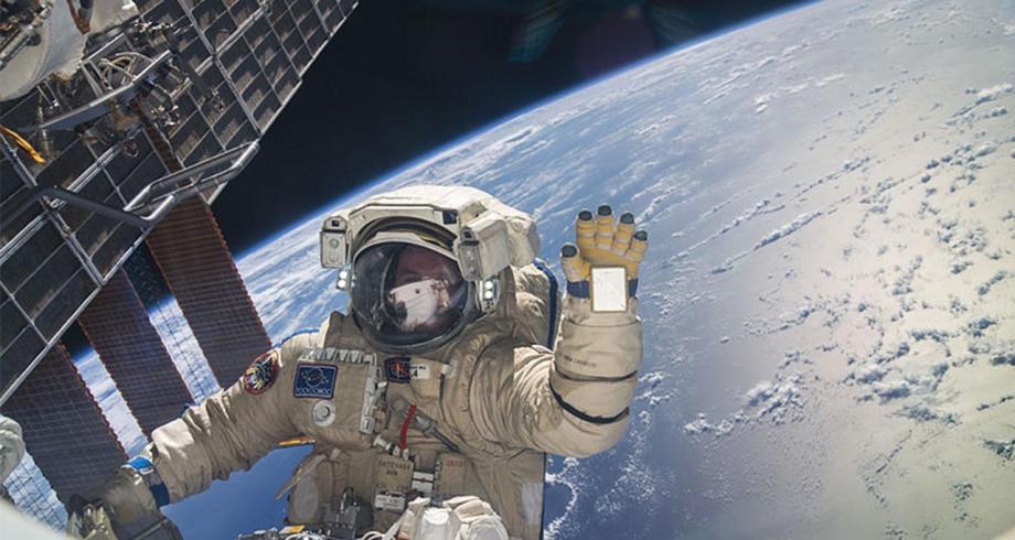 دراسة : قضاء وقت طويل في الفضاء يسبب تلفا في الدماغ