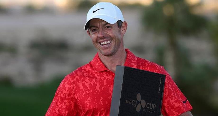 Golf: Rory McIlroy s'adjuge la CJ Cup