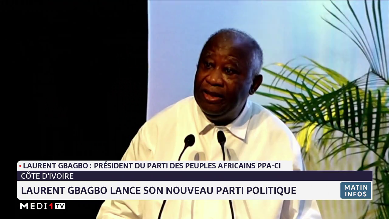 Côte d'Ivoire: Laurent Gbagbo lance son nouveau parti politique