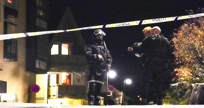 الشرطة النروجية: القتلى الخمسة في الهجوم قضوا بالسلاح الابيض
