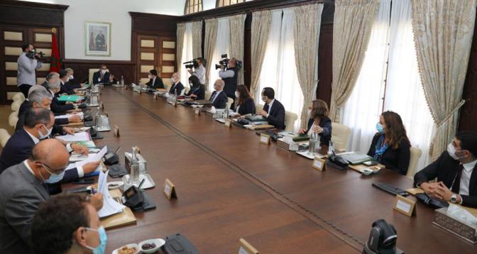 مجلس الحكومة يتدارس مشروع قانون المالية لسنة 2022